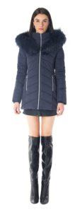 navy winter coat